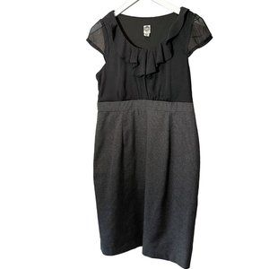 Sangria Petite Faux Skirt with Top Dress